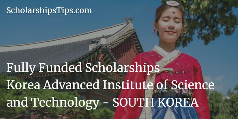 Fully Funded Undergraduate Scholarships, Korea Advanced